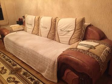 Продаю диван кожзам, длина 320 см, в свое в Бишкек