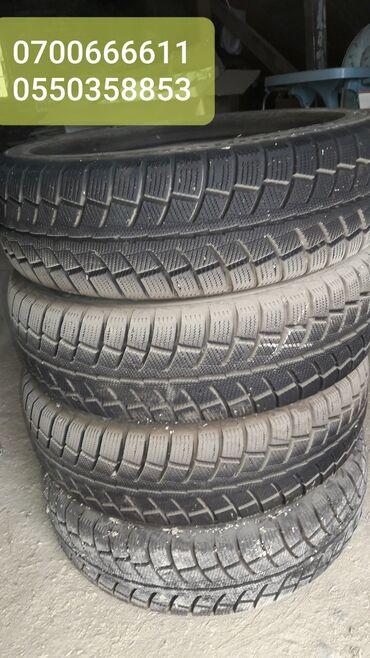 225 70 17 летние шины в Кыргызстан: ПРОДАЕТСЯ комплект 4+1 зимней резины Durun2009. В идеальном состоянии