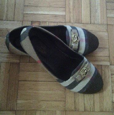 Ženska obuća | Majdanpek: Burberry baletanke br. 37 nove . Baletanke su nove, probane po kuci