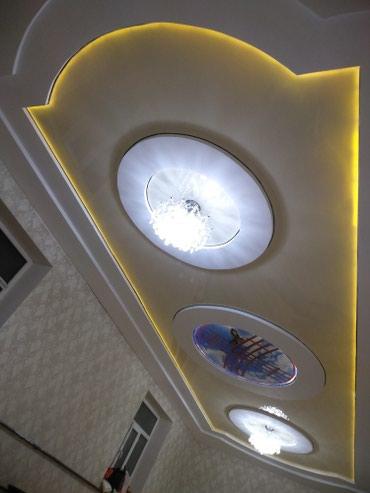 Глянцевые натяжные потолки. Основной в Бишкек