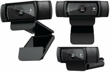 веб камеры 1280x1024 в Кыргызстан: Продаю, Веб камера Logitech C920 HD Pro 15MP, Full HD, 1080p, Carl
