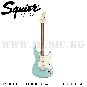 Электрогитара Squier Bullet Stratocaster, Laurel Fingerboard, Tropical