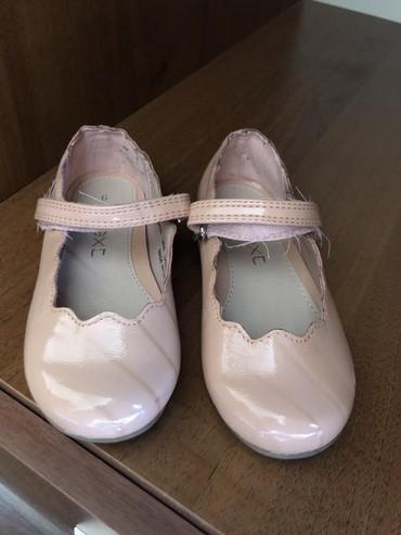 next shorty в Кыргызстан: Пудровые туфли Next, 21-22 размер