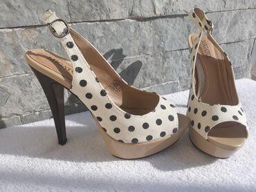 Sandale 39 vel.Jednom obuvene