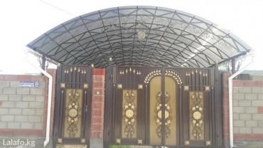 Навесы козырьки и все виды сварочных работ в Бишкек - фото 9