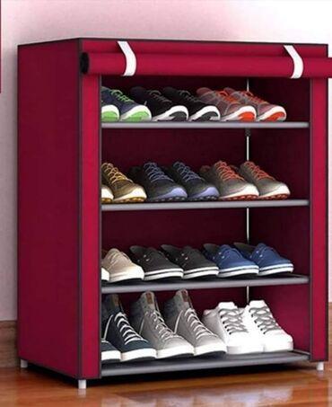 Nameštaj - Futog: Platneni ormar za obuću sa 4 police U paketu dolazi uputstvo za sklapa
