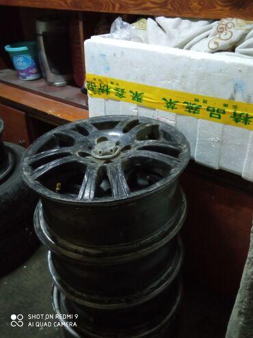 авто ру шины бу в Кыргызстан: Титановые диски 14размер с России 3 дня назад привезли бушные только