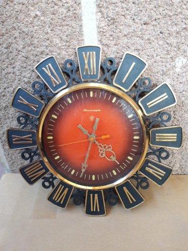 Часы СССР , на батарейке. Диаметр 32 см. в Бишкек