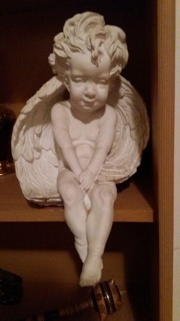 Kućni dekor - Novi Sad: Овај малишан тражи нови дом. Скулптура купљена у Санкт-Петербургу
