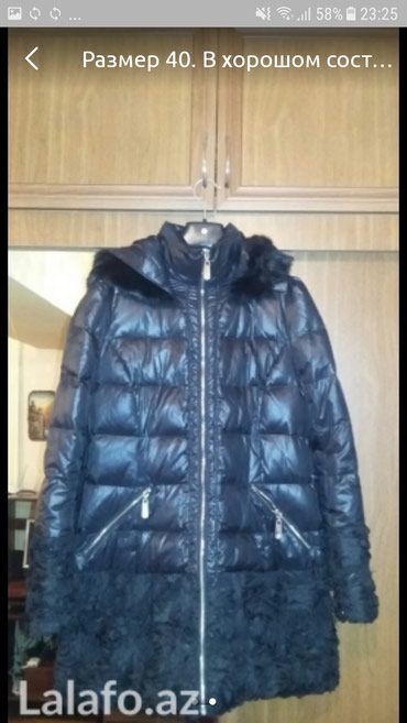 T 40 - Azərbaycan: Дутая удлененая курточка Valentino. В идеальном состоянии. Размер