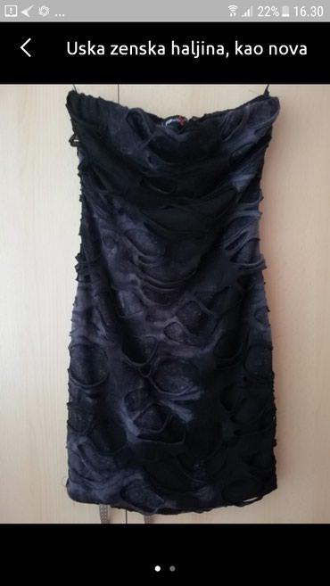 Uska haljina kao nova, vel s jednom obucena - Belgrade