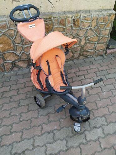 Продаю бу велоколяску смарт трайк (Smart Trike),оригинал.Состояние