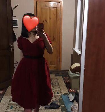 вечернее платье бирюзовый в Кыргызстан: Продаю платье как у Белоснежки оно очень красивое. Надевала 1 раз и
