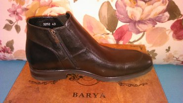 Ботинки мужские, из натуральной кожи в Bakı