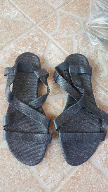 Sandale s sljokicama svetlucavim br.37