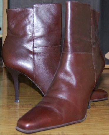 Ботинки, кожа, Бразилия, б.у в хорошем состоянии, размер 37-37.5 в Бишкек