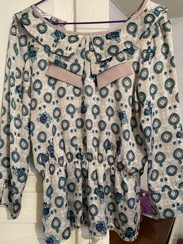 Прекрасное блузы идеально в офис, в гости со штанами и юбками, состо