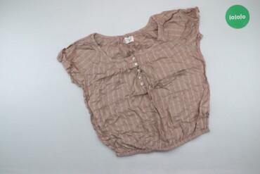 Личные вещи - Украина: Жіноча футболка у смужку, р. М   Довжина: 51 см Довжина рукава: 9 см Н