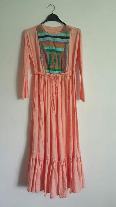 Продаю новое платье ткань льен есть ремешок из тукабы. Заказала из