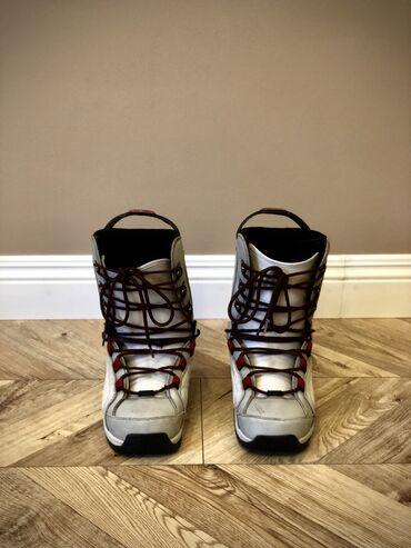 Сноуборды в Кыргызстан: Продаю ботинки для сноуборда Factory CruiserРазмер: 42-43 (US 9)Прошу