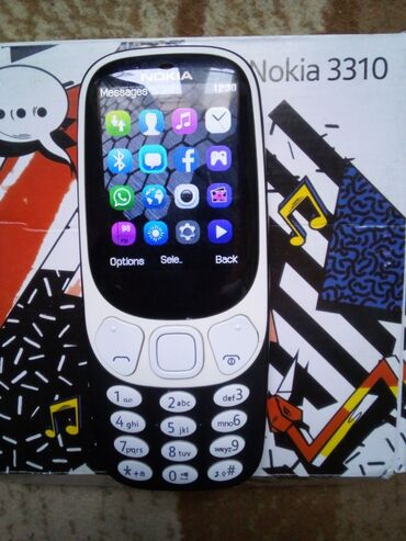 nokia telefon - Azərbaycan: Nokia 3310 təzə telefon