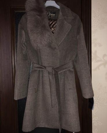 Новое кашемировое пальто в цвете капучино, размер S Турция под