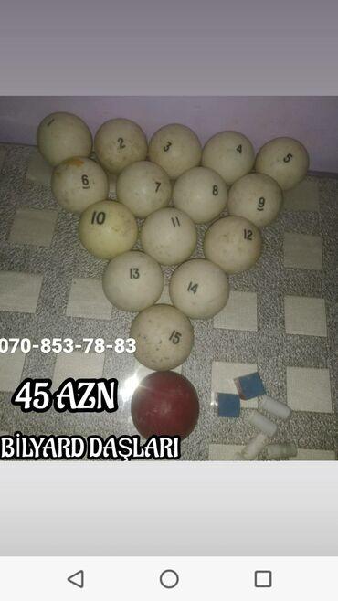 cay daslari satilir in Azərbaycan | QAB-QACAQ DƏSTLƏRI: BİLYARD DAŞLARI