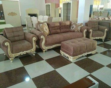 Bakı şəhərində Divan kreslolar ,  Fabrik istehsali, pufikle birlikde 1010 manat