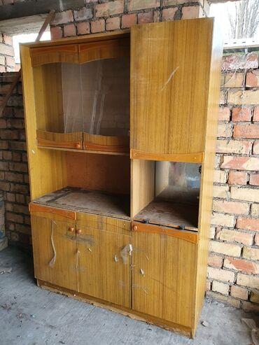 буфет кухня в Кыргызстан: Шкаф для кухни 125×183.  Небольшой торг уместен