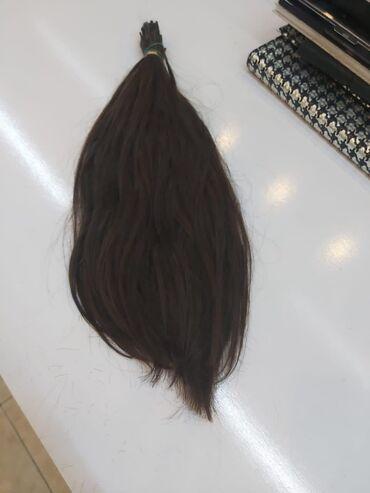 Təbii uşaq saçı 70qr renglenmemis