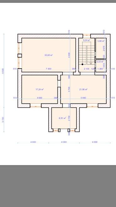 Продается 2-этажный дом с мансардой под самоотделку в ж/м арча-бешик.  in Бишкек