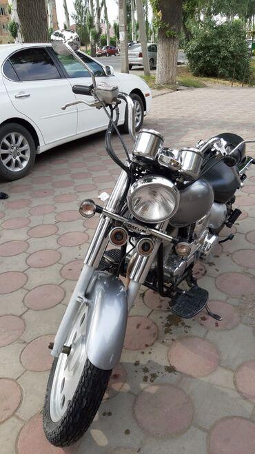Продаю мотоцикл 125 кубиков. Корейского происхождения. Четырех