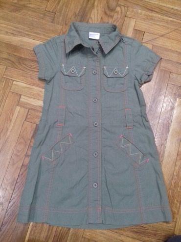 Pantalone maxi me - Srbija: Maxi maxi haljinica. Velicina 100,za oko 4 godine. Haljina je kao