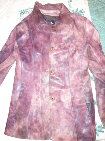 Кожаная оригинальная куртка