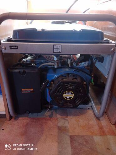 Генераторы - Кыргызстан: Продаю генератор!!! Новый!!! 5.5 кВат