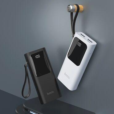 HOCO J41 Power Bank Портативный аккумулятор 10000mAh с двумя USB выхо