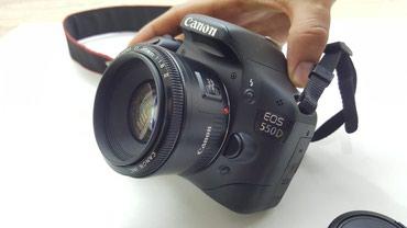 CANON 550d + 50mm 1,8 II , зарядка , флешка на 16 гб в Бишкек