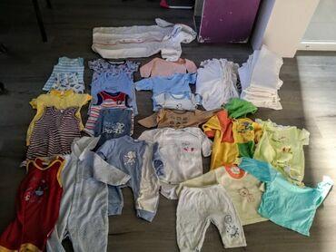 Dzak odece garderoba - Srbija: Dzak odece za bebeSve ocuvano bez ostecenja vel.3-12meseci.Sve za