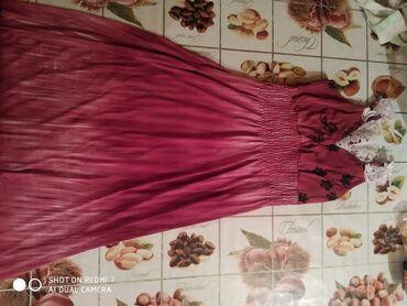 летнее платье свободного кроя в Кыргызстан: Платье Свободного кроя 0101 Brand L