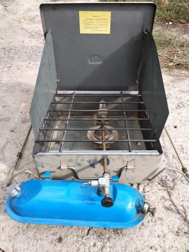 Бензиновая. переносная плитка для походов отдыха на природе в Токмак