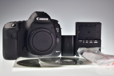 Canon EOS 5D Mark III 22.3MP Цифровая камера Count 6036 в Бишкек