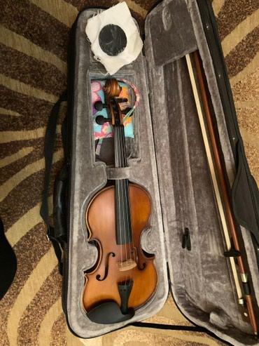 Продаю скрипку б/у в отличном состоянии детская 1/4 в Бишкек