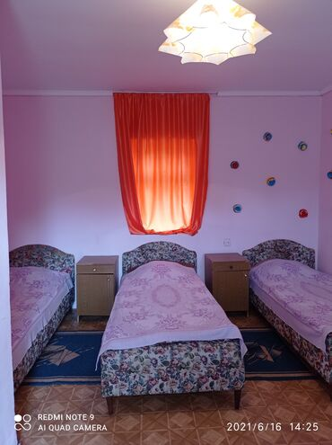 Отдых на Иссык-Куле - Корумду: Сдаются комнаты 500 метров от берега с удобствами без питания.село
