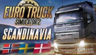 Euro Truck Simulator 2: SCANDINAVIA igra za pc (racunar i - Boljevac