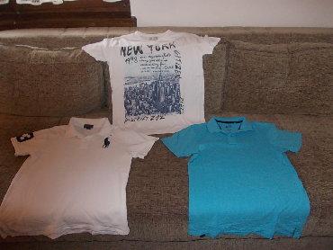 Men's T-shirts - Srbija: Majice za tinejdzere 2,zara majica 13/14164, duzina 61cm, poluobim