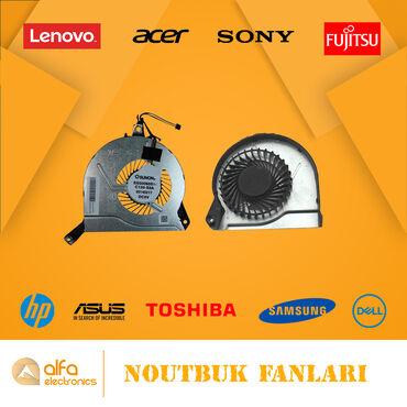 Noutbuk Kullerləri (Laptop Fan)Acer, Asus, Clevo, Toshiba, Samsung
