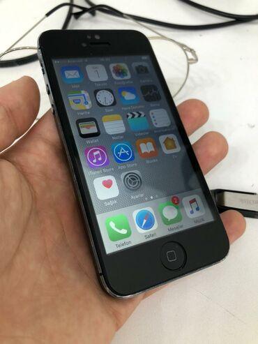 İşlənmiş iPhone 5 16 GB Boz (Space Gray)