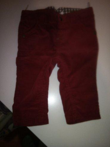Crvene c i a pantalonice plis 68 postavljene obucene dva puta - Kragujevac