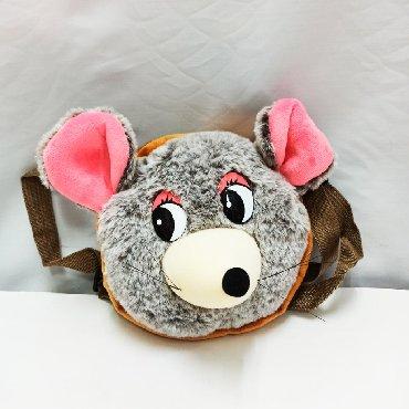 Милая сумочка мышка в виде мягкой в Бишкек
