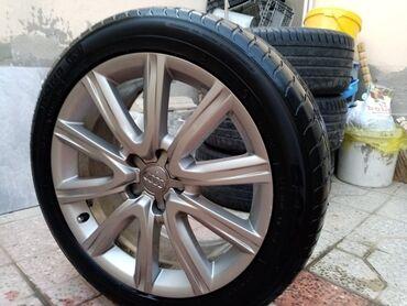 audi a8 4 tdi - Azərbaycan: Audi diski təkərli satıram tam idial veziyetde good year 245/45/18 150